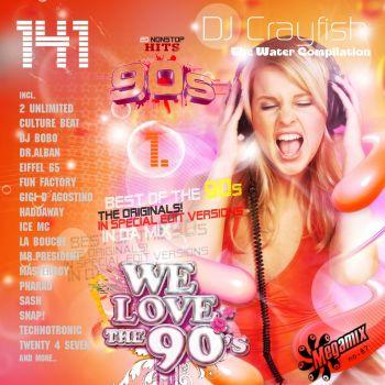 WE LOVE THE 90'S MEGAMIX (VOLUME 1)