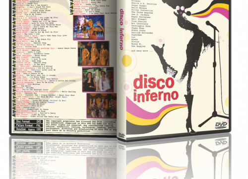 Disco Inferno – The 70's in Non-Stop Mix + Bonus Disco Love Machine