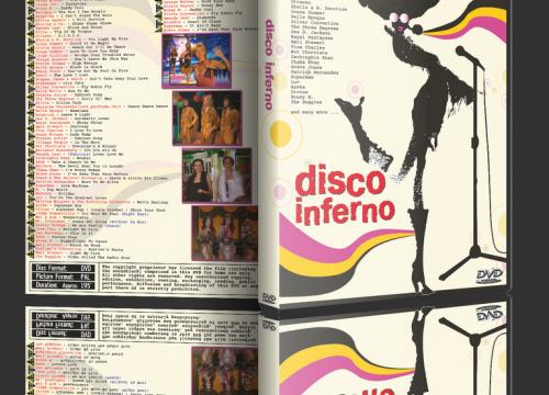 Disco Inferno – The 70's in Non-Stop Mix + Bonus Disco Love Machine