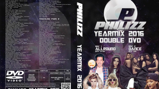 Philizz Video Yearmix 2016 – Part 1+2