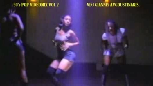 90's POP MEGA VIDEOMIX VOL. 2 VDJ GIANNIS AVGOUSTINAKIS