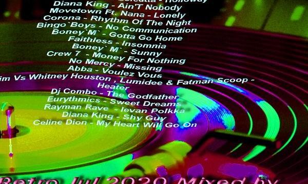 Retro Jul 2020 Mixed by DJ Dan NT
