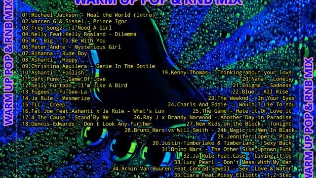 WARM UP POP & RNB MIX By DVJ Kosta